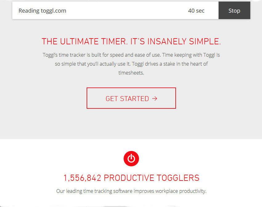 Productivity-App-Toggl
