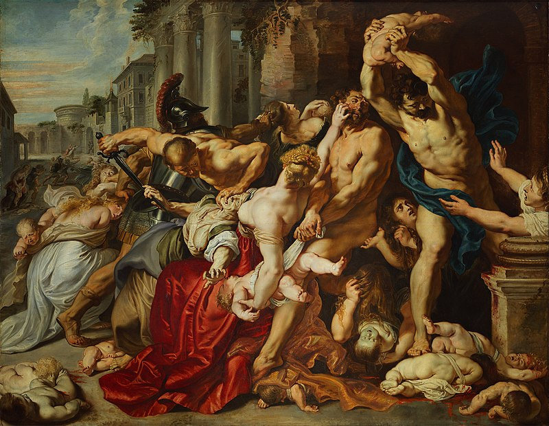 Massacre of the Innocents, Peter Paul Rubens