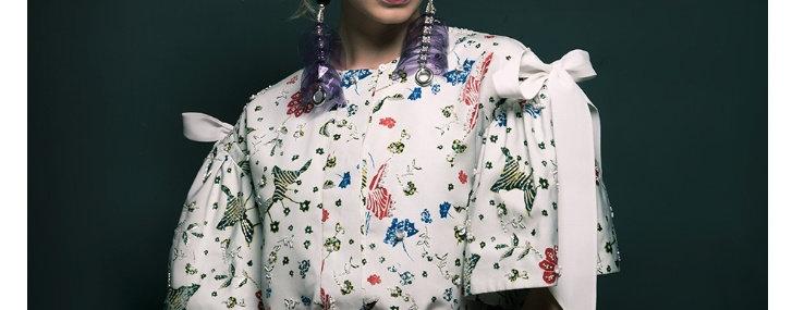 blouse Saint Laurent