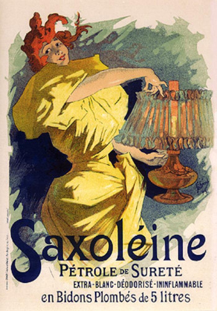 Saxoléine, Pétrole de sureté, 1895