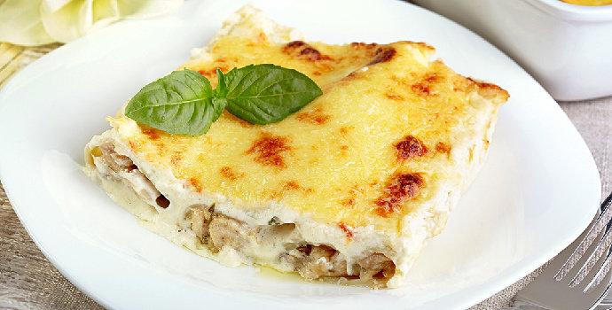 Resep Baked Chicken & Mushroom Ricotta Cannelloni
