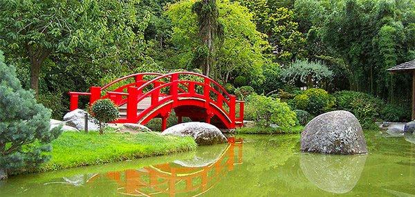 jembatan taman jepang