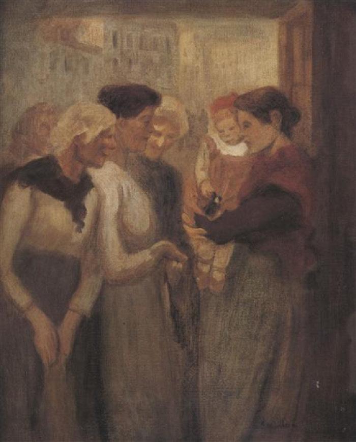 Women Conversing, 1895