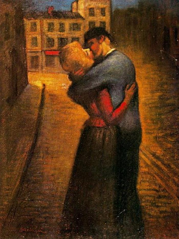 The Kiss, 1895