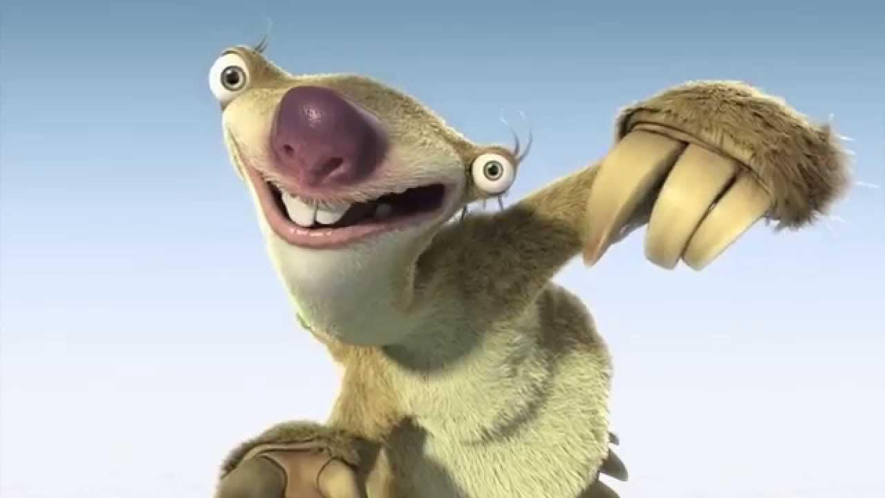 Apakah Jenis Hewan Untuk Karakter Sid Dalam Ice Age Movie