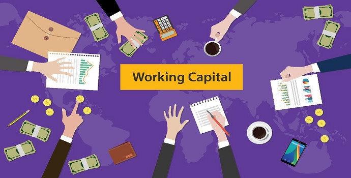 modal kerja (modal lancar) atau floating capital, working capital, circulating capital