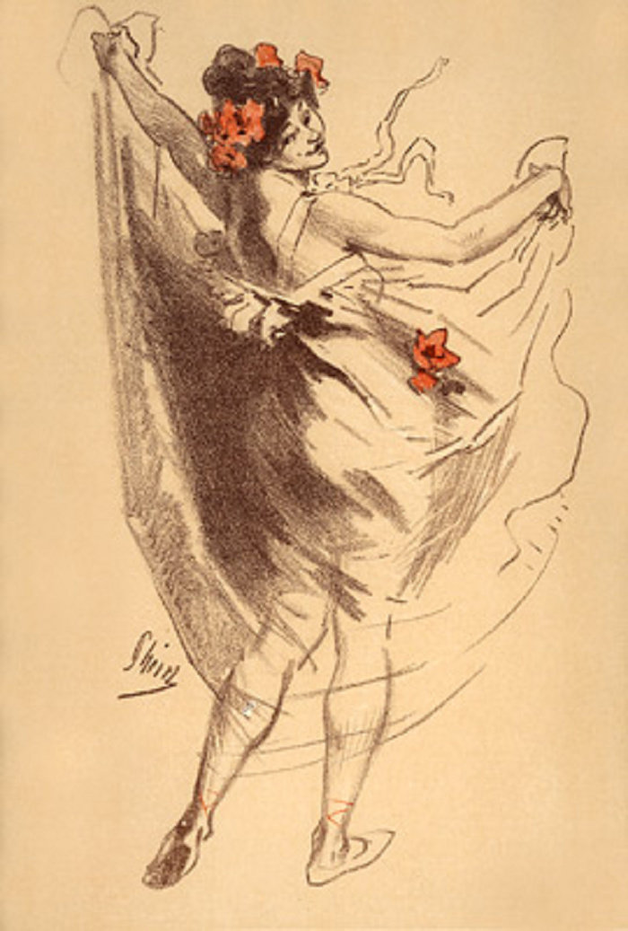Jules - Dance (lithograph, 1899)