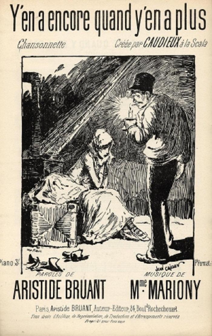 Y'En A Encore Quand Y'En A Plus, 1889