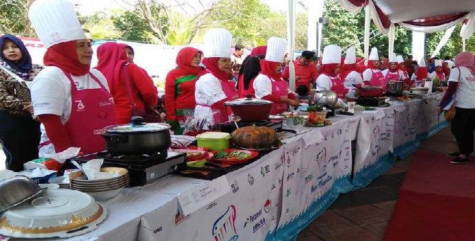 Lomba masak nasional, semarakkan hasil kuliner Indonesia
