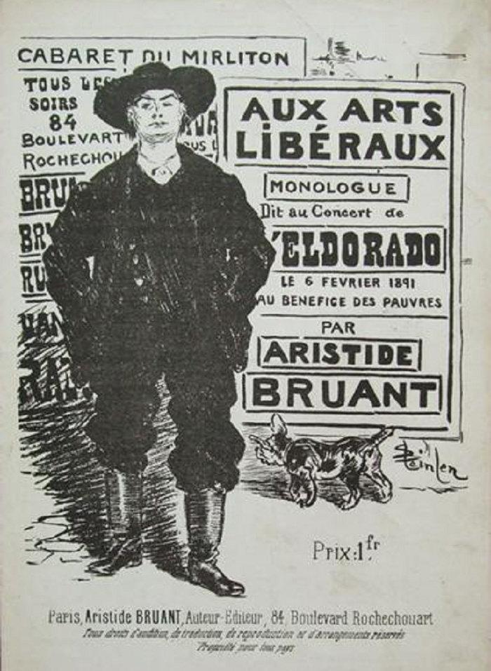 Aux Arts Liberaux, Theophile Steinlen, 1890