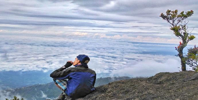 mendaki gunung arjuno dan welirang melalui purwosari