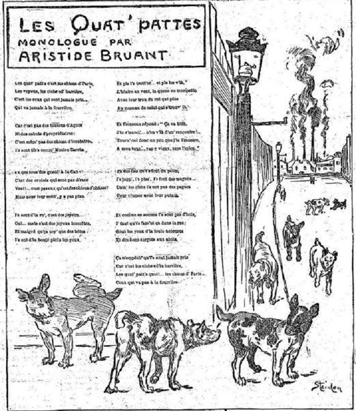 Les Quat Pattes, 1891
