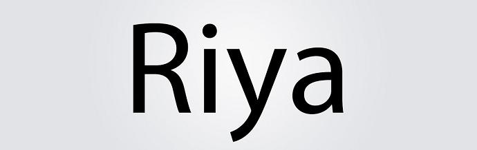 Riya'