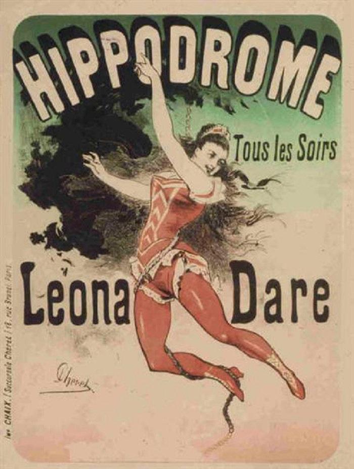 Hippodrome, Leona Dare, 1883