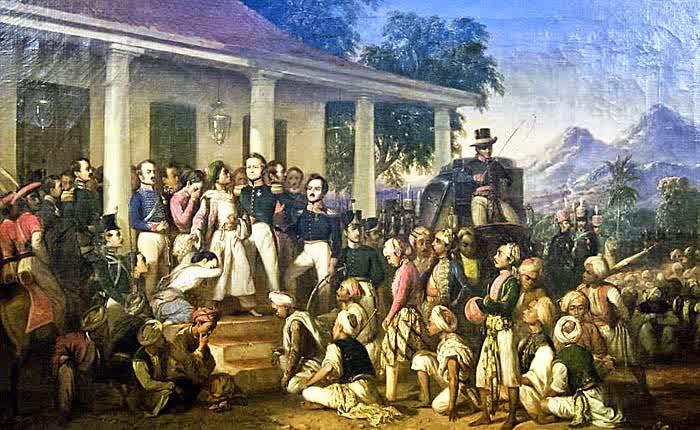Penangkapan Pangeran Diponegoro di Magelang