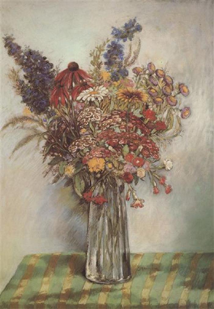 Flowers, 1908