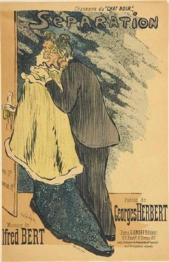 Separation, Theophile Steinlen, 1892