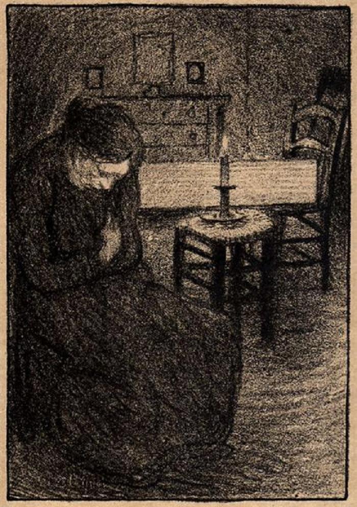 La Veillee, 1907